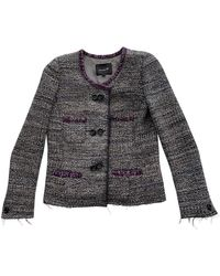 Isabel Marant Giacca in lana grigio