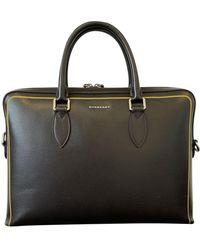 Burberry Brown Leather Bag