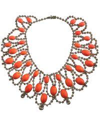 Tom Binns Necklace - Orange