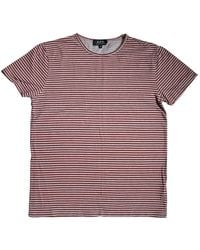 A.P.C. T-shirts - Rot