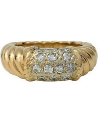 Van Cleef & Arpels - Philippine Other Yellow Gold Ring - Lyst