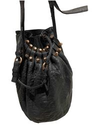 Alexander Wang Diego Leather Handbag - Black