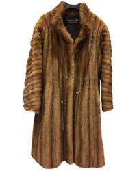Dior Mink Fur Coat - Natural