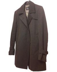 Zadig & Voltaire Wool Peacoat - Grey