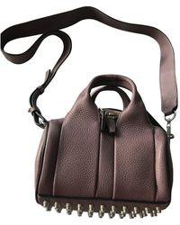 Alexander Wang Rockie Leather Crossbody Bag - Pink