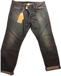 Burberry Jeans en Coton Bleu