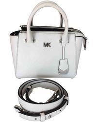 Michael Kors Leder Handtaschen - Weiß