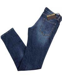 Roberto Cavalli Slim jeans - Blau