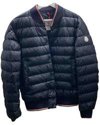 Moncler - Blue Synthetic Jacket - Lyst