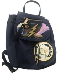 Marc By Marc Jacobs Navy Polyester Backpacks - Multicolour