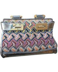 Missoni Leather Handbag - Multicolor