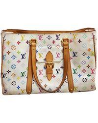 Louis Vuitton Leinen Kleine Tasche - Mehrfarbig
