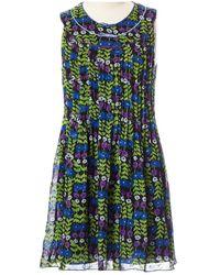 Anna Sui Mini Kleid - Grün