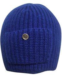 Chanel Cappelli in lana blu