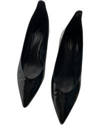 CALVIN KLEIN 205W39NYC Patent Leather Heels - Black