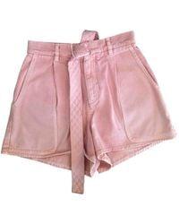 Chanel Pink Denim - Jeans Shorts