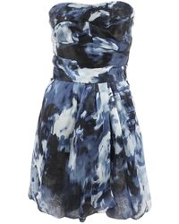 Thakoon - Blue Silk Dress - Lyst