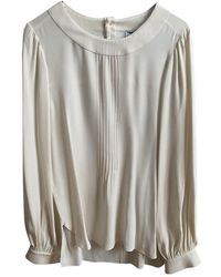 Chanel Silk Blouse - White