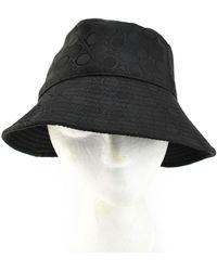 Ferragamo Cloth Hat - Black