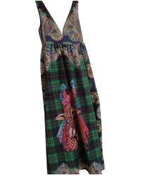 Stella Jean Robe en Coton Multicolore
