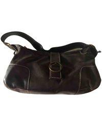 Carolina Herrera Leather Handbag - Brown