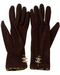 Chanel Gloves - Brown