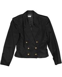 Ferragamo - Black Cotton - Lyst