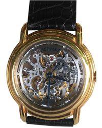 Hermès Gelbgold Uhren - Mehrfarbig