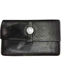 Hermès Dogon Leather Wallet - Black