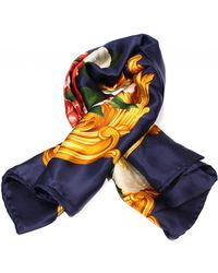 Chanel - Blue Silk Silk Handkerchief - Lyst