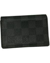 Louis Vuitton Anthracite Cloth Small Bag Wallets & Cases - Black
