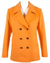 Tomas Maier Giacche in lana arancione