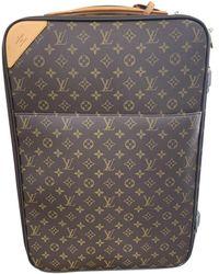 Louis Vuitton Pegase Leinen Reisetaschen - Braun