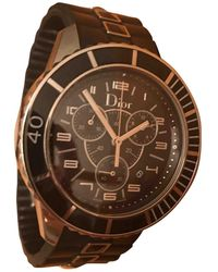 Dior Reloj Christal Chronographe - Negro