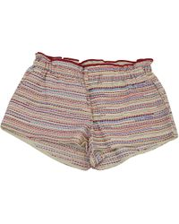 Maje - Pre-owned Multicolour Cotton Shorts - Lyst