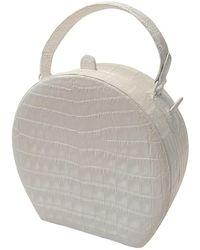 Nancy Gonzalez Leather Bag - White