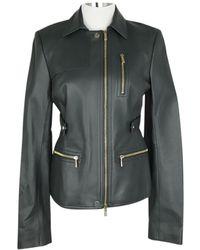 Jason Wu Leather Knitwear - Gray