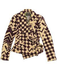 Christian Lacroix - Pre-owned Vintage Beige Tweed Jackets - Lyst