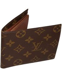 Louis Vuitton Piccola pelletteria in Tela - Marrone