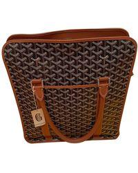 Goyard Leinen Taschen - Braun