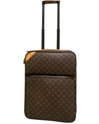 Louis Vuitton Valigie in tela marrone Pegase