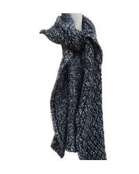 Chanel Black Cashmere Scarf