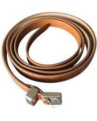 Michael Kors Leather Belts - Multicolor