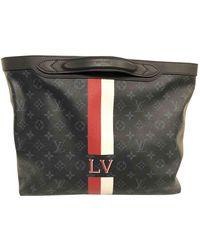 Louis Vuitton Leinen Taschen - Blau