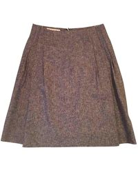 Marni Wool Mid-length Skirt - Brown