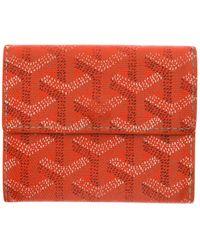 la meilleure attitude 89f14 83a35 Petite maroquinerie en Toile Orange - Multicolore