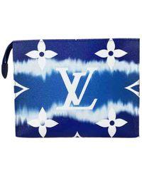 Louis Vuitton Poche Toilette Cloth Vanity Case - Blue