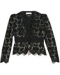 Stella McCartney - Black Cotton Jacket - Lyst