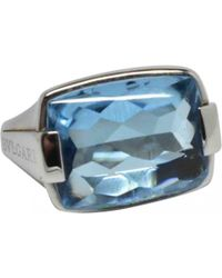BVLGARI - Pre-owned White Gold Ring - Lyst