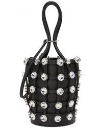 Alexander Wang Roxy Leather Handbag - Black